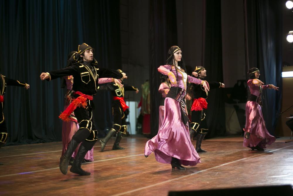 Ритмы Кавказа - 5лет Школе кавказских танцев и ансамблю